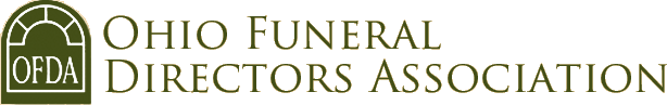 Ohio Funeral Directors Association. Click logo for home page.